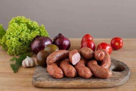 """Sausages """"Girinio'',  ~ 0,800 kg"""