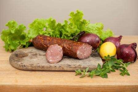 Smoked sausage''Kadaginė'', ~ 0,350 kg