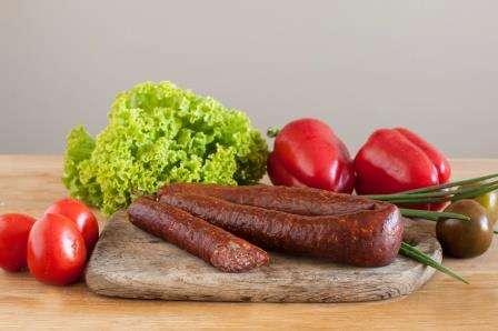 Smoked sausage''Naminė'', ~ 0,400 kg