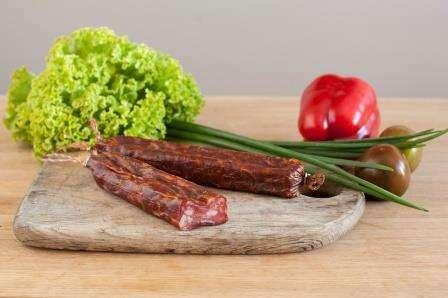 Smoked sausage ''Milano'', ~ 0,220 kg