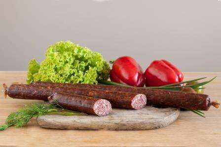 Smoked sausage''Vilniaus'', ~ 0,250 kg