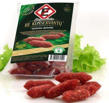 Dried sausages no preservatives 230 g