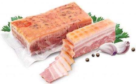 Hot-smoked bacon, ~300g