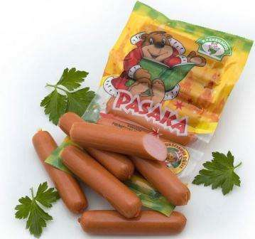 Boiled sausages Pasaka, 260g