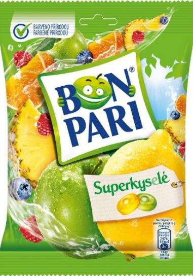 Caramel BON PARI® Fruit acid 90g
