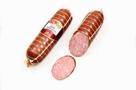 "Hot smoked sausage ""Dūmo servelatas"", 360g, unit"