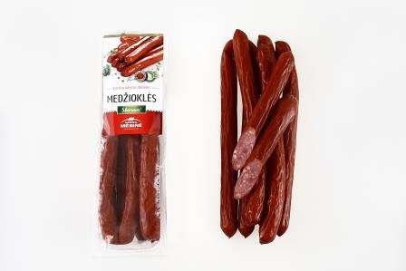 """Hot smoked small-sausage """"Medžiotojų"""", KG"""