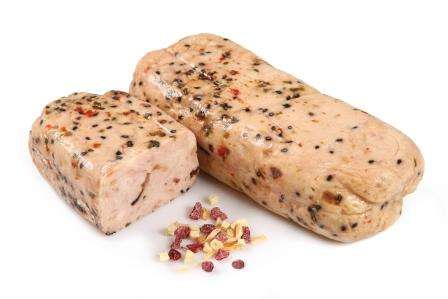 Chicken roulade with dried apples and cranberries, ~1 kg(vak) KG