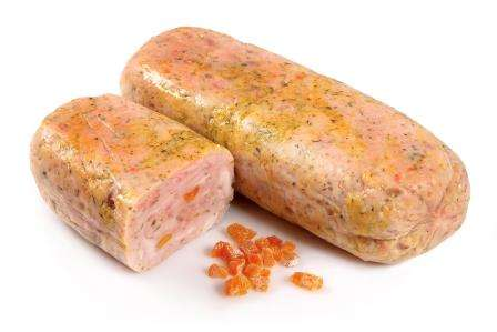 Chicken with apricots roll, ~1 kg(vak) KG