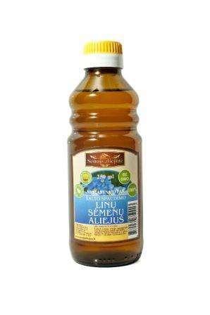 Cold pressed flax oil, 250 ml