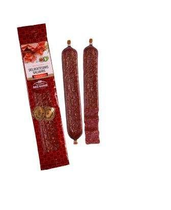 "Cold smoked sausage ""Delikatesinis"", 220g, unit"