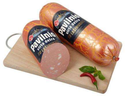 Cooked sausage '' Pavilnio'' ~1kg
