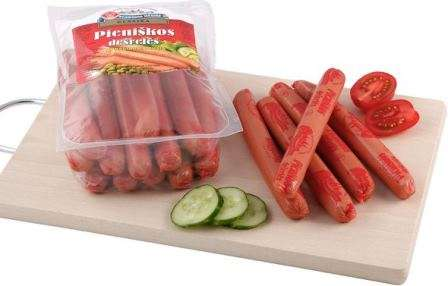 Cooked sausages  ~500g
