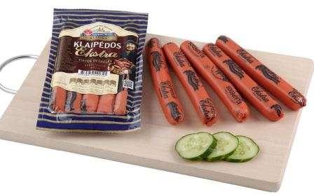 Cooked sausages ''Klaipėdos ekstra'' 260g