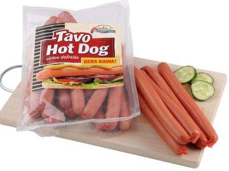 "Cooked sausages ""Hot dog""  ~700g"