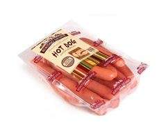 Hot dog sausages, 0,69 kg(duj), unit