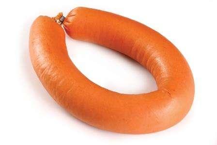 ROKIŠKIO sausage,  ~0,35 kg(nat.zar) KG
