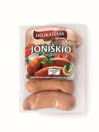 Cooked  saus. Joniškio~ 500g