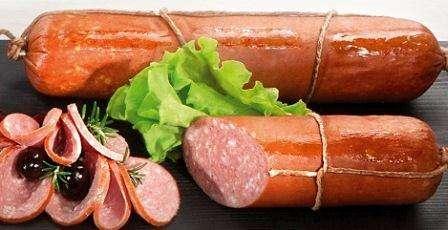 Hot smoked sausage Tradicinė~ 400g