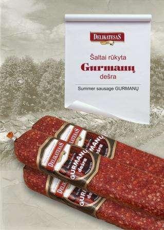 C/s sausage Gourmet~ 300 g