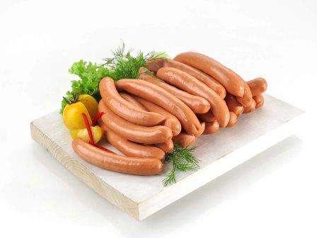 """Cooked  small saus. """"Kitokios"""",~ 500g"""