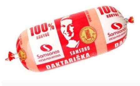 """Cooked sausage """"Samsono daktariška"""" ~800g"""