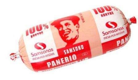 "Cooked sausage ""Samsono Panerio"" ~800g"