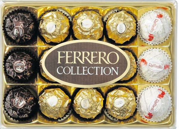 FERRERO COLLECTION candy,T.15
