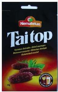 "Dried sausages ""TAI TOP"", 50g"