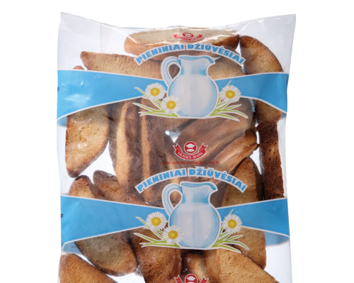 Rusks flavored with condensed milk, 0,25kg