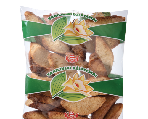Rusks flavored with vanilla, 0,25kg