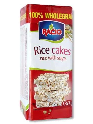 RACIO Rice Cakes Soya 130 g