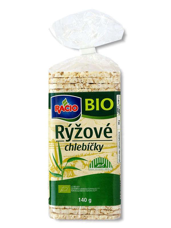 RACIO Organic Rice Cakes 140 g