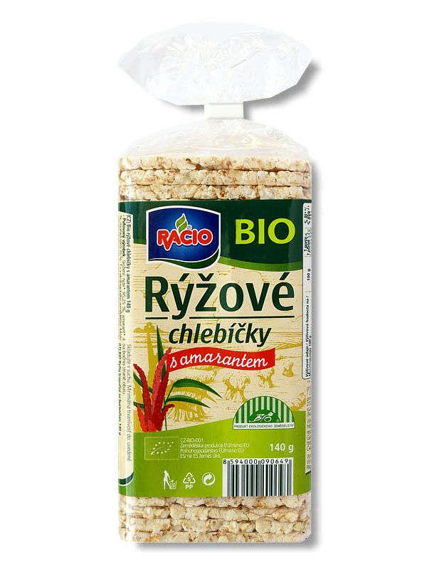 RACIO Organic Rice Cakes Amaranth 140 g