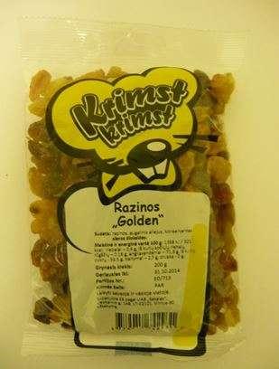 """KRIMST KRIMST 200 g Raisins """"Golden"""""""