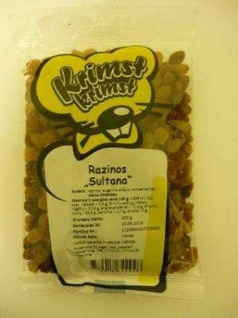 """KRIMST KRIMST 200 g Raisins """"Sultana"""""""
