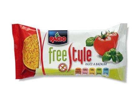 RACIO FreeStyle Tomato&Basil 25 g /Rice Cakes