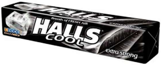 Candies HALLS Extra Strong, 33,5 g
