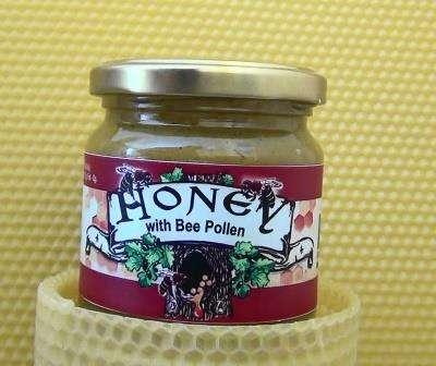 Honey With Pollen
