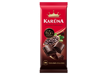 Chocolate KARUNA, 65% cocoa, 80 g