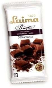 LAIMA Bitter chocolate 100g