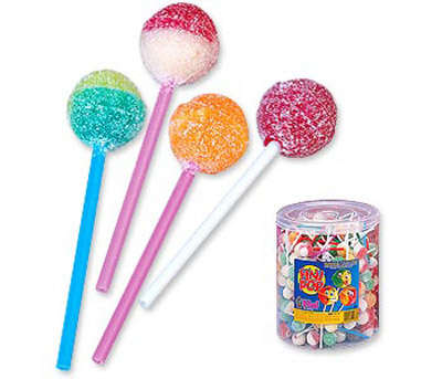 Caramel lollipops 1.4 kg FINIBOOM*200