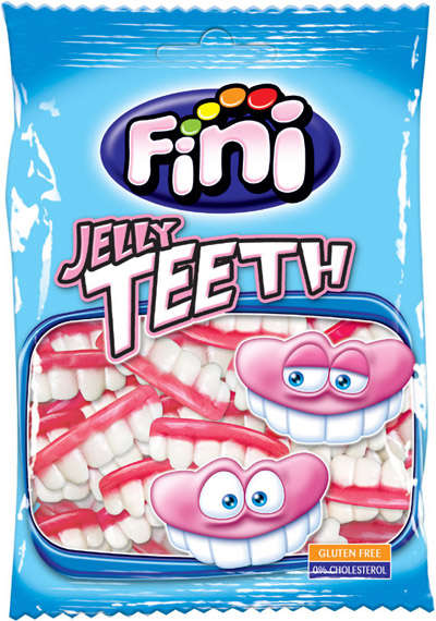 100G candy gum Teeth FINI