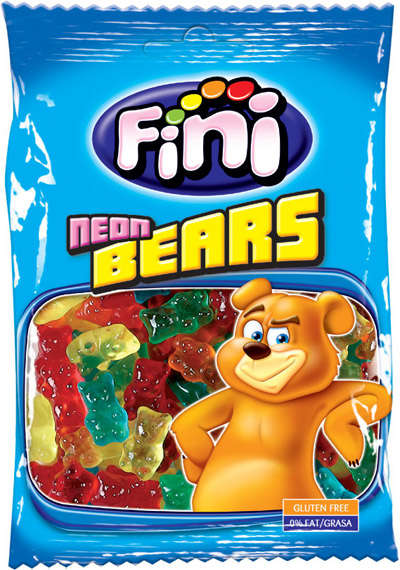 Bears 100G candy gum FINI