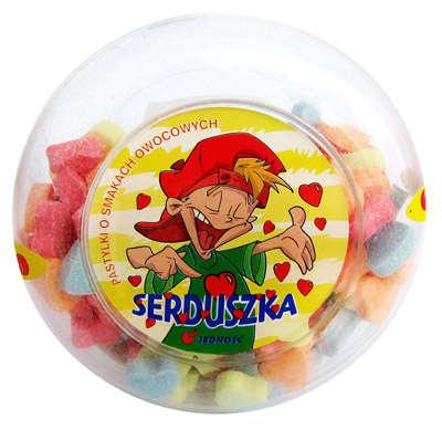 Fruit pastilles 120g Heart