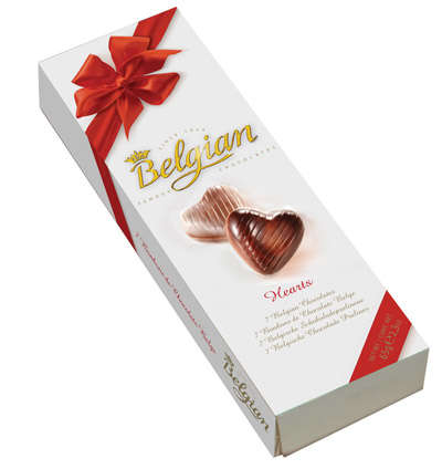 Heart Chocolates 65g BELGIAN