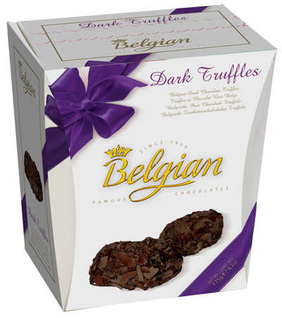 145g truffles GANACHE with dar chocolate taste filling BELGIAN