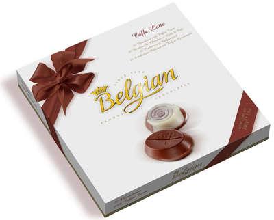 200g of coffee tasting chocolates BELGIAN