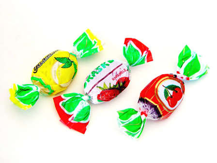 """Fruit and berry flavoured caramel """"Vaisių ir uogų asorti"""", """"Naujoji Rūta"""", 1 kg (3)"""