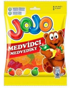 JOJO bears, Gum fruit flavor 80g